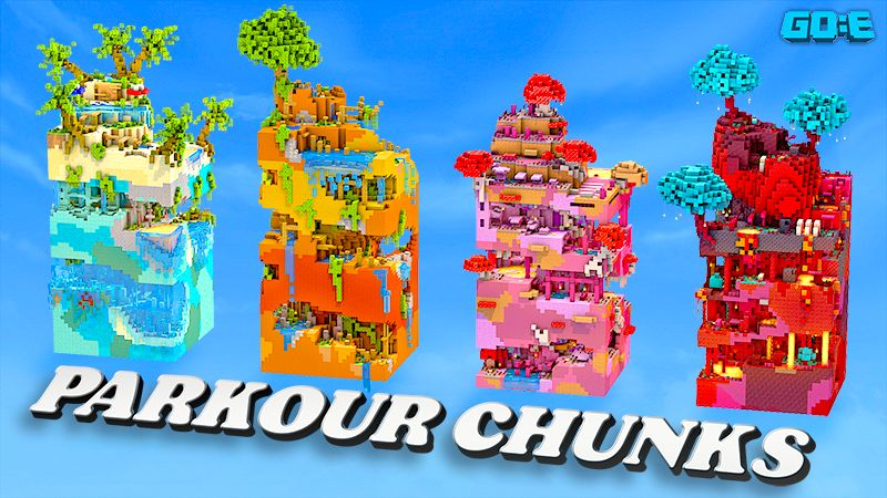 Parkour Chunks on the Minecraft Marketplace by GoE-Craft