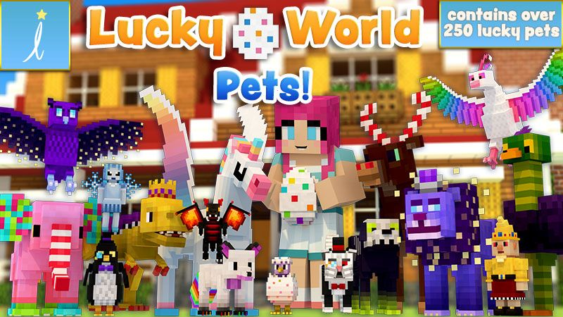 Lucky World Pets on the Minecraft Marketplace by Imagiverse
