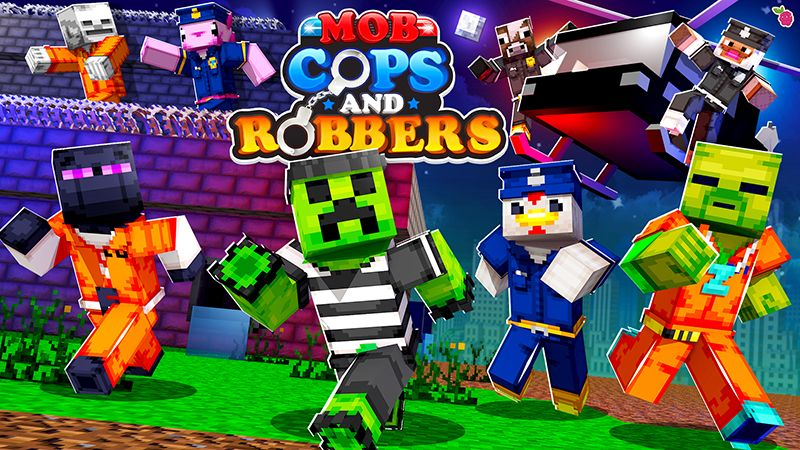 Mob Cops  Robbers on the Minecraft Marketplace by Razzleberries