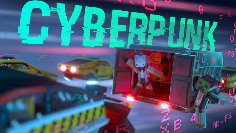Cyberpunk on the Minecraft Marketplace by Sapphire Studios