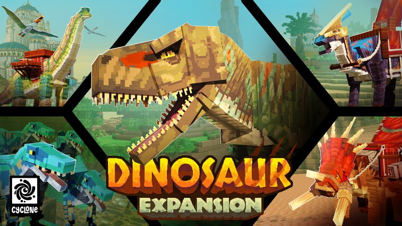 Dinosaur Expansion on the Minecraft Marketplace by Cyclone