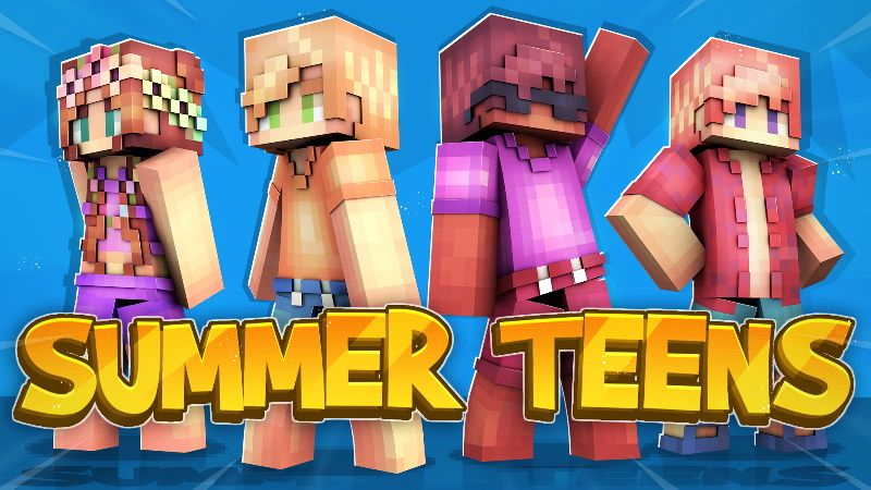 Summer Teens on the Minecraft Marketplace by Cynosia