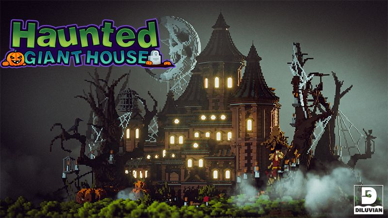 Haunted Giant House on the Minecraft Marketplace by Diluvian