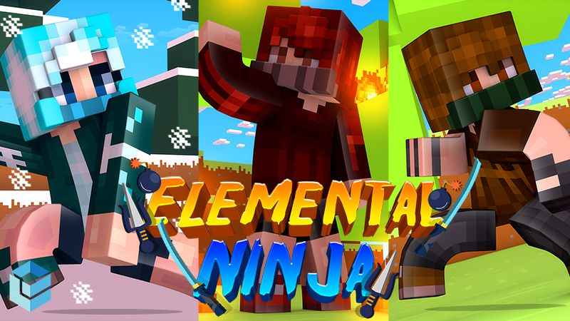 Elemental Ninjas on the Minecraft Marketplace by Entity Builds