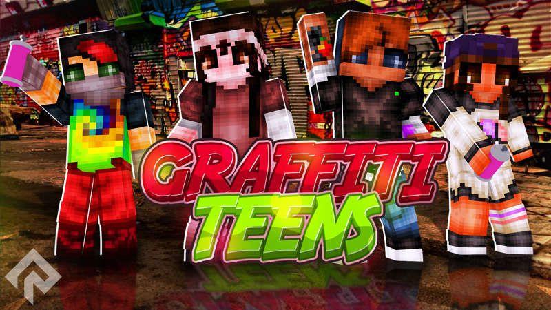Graffiti Teens on the Minecraft Marketplace by RareLoot