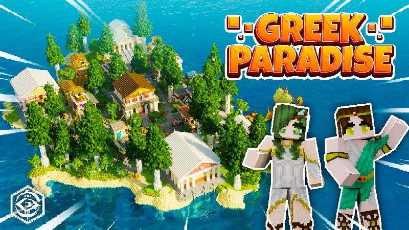 Greek Paradise on the Minecraft Marketplace by Cynosia