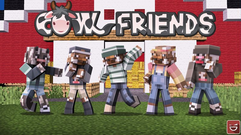 Cow Friends on the Minecraft Marketplace by Giggle Block Studios