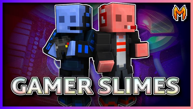 Gamer Slimes on the Minecraft Marketplace by Metallurgy Blockworks