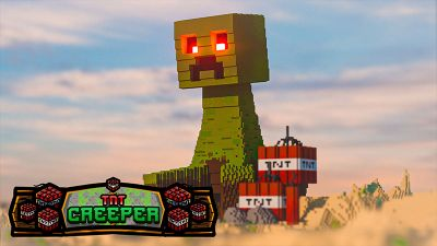 TNT Creeper on the Minecraft Marketplace by Odyssey Builds
