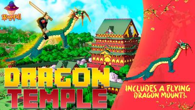 Dragon Temple on the Minecraft Marketplace by Magefall