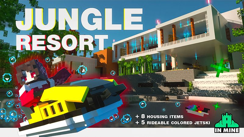 Jungle Resort on the Minecraft Marketplace by In Mine