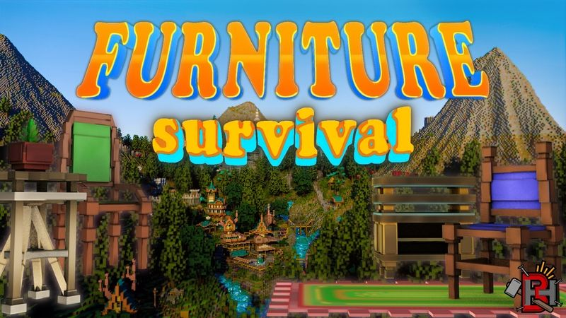 Furniture Survival on the Minecraft Marketplace by Builders Horizon