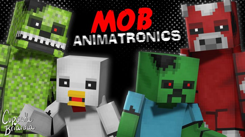 Mob Animatronics HD Skin Pack on the Minecraft Marketplace by CupcakeBrianna