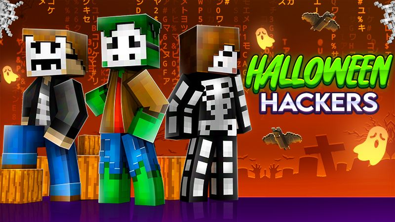 Halloween Hackers on the Minecraft Marketplace by The Craft Stars