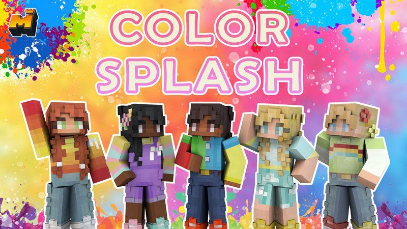 Color Splash on the Minecraft Marketplace by Mineplex