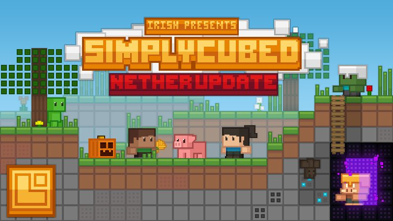 Simply Cubed on the Minecraft Marketplace by Pixel Squared