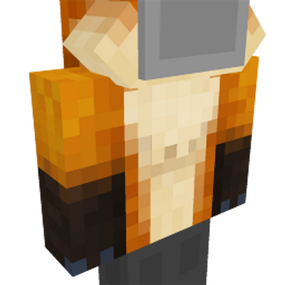 Fox Hoodie on the Minecraft Marketplace by Syclone Studios