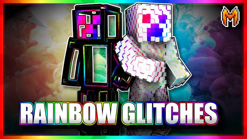 Rainbow Glitches on the Minecraft Marketplace by Metallurgy Blockworks