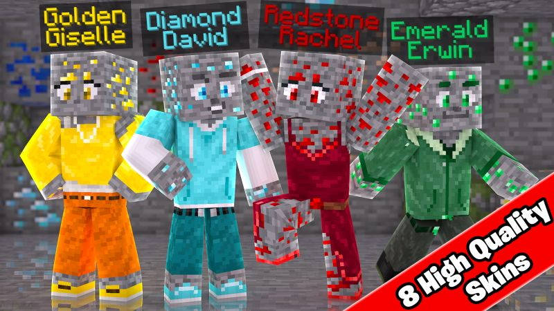 DIAMOND FAMILY on the Minecraft Marketplace by Doctor Benx