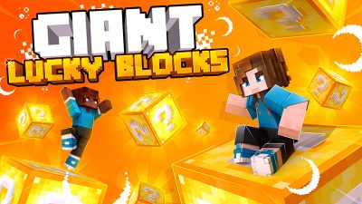 Giant Lucky Blocks on the Minecraft Marketplace by Cynosia