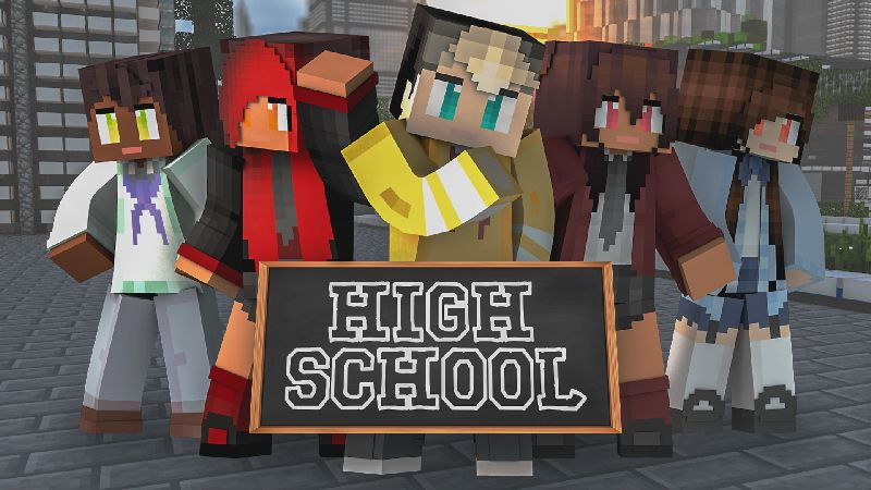 High School on the Minecraft Marketplace by Impulse
