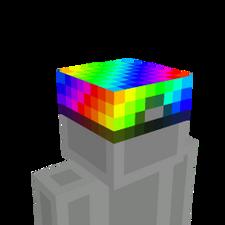 Cool Rainbow Hat