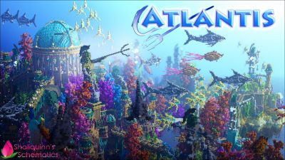 Atlantis on the Minecraft Marketplace by Shaliquinn's Schematics