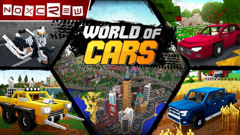 World of Cars on the Minecraft Marketplace by Noxcrew