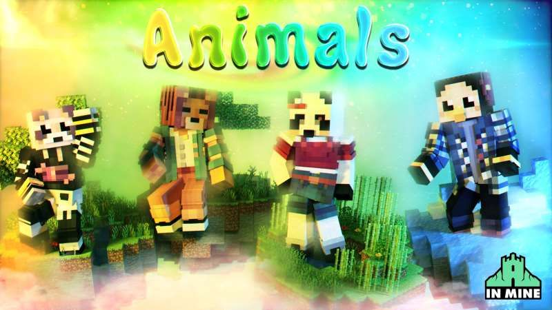 Animals on the Minecraft Marketplace by In Mine