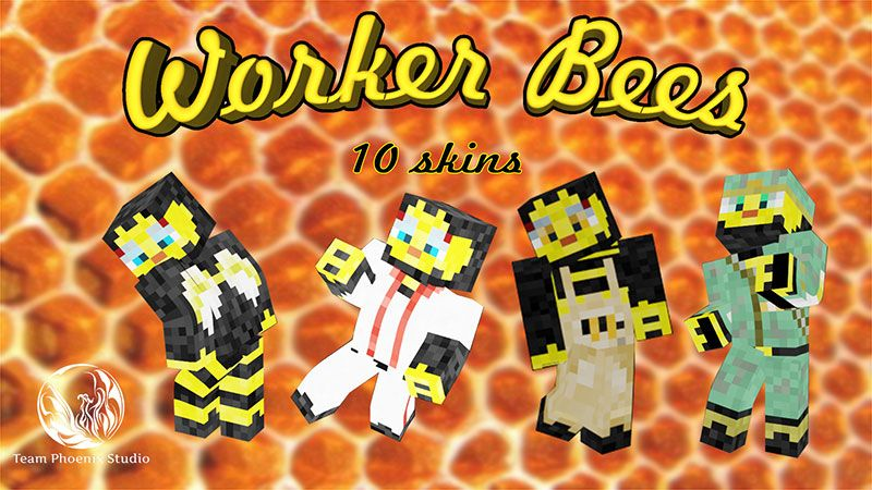 Worker Bees on the Minecraft Marketplace by Team Phoenix Studio