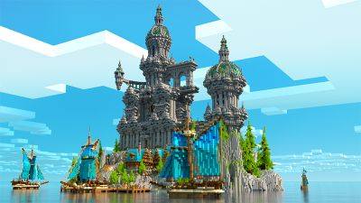 Free Estate on the Minecraft Marketplace by Glowfischdesigns