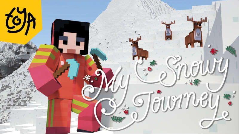 My Snowy Journey on the Minecraft Marketplace by Toya