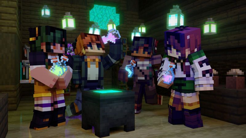 Teen Witches on the Minecraft Marketplace by CubeCraft Games