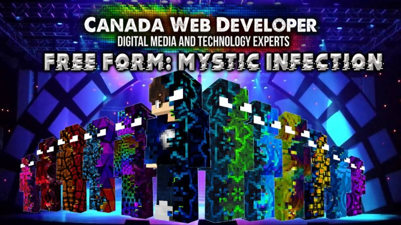 Free Form Mystic Infection on the Minecraft Marketplace by CanadaWebDeveloper