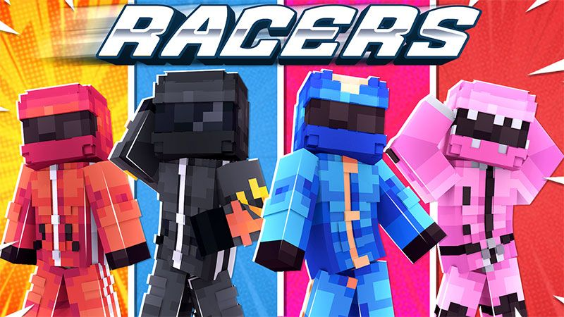 Racers on the Minecraft Marketplace by Dig Down Studios