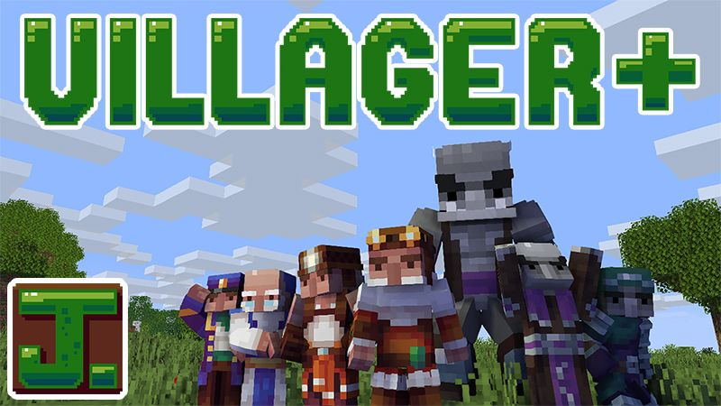 Villager Plus Skin Pack on the Minecraft Marketplace by ThatGuyJake