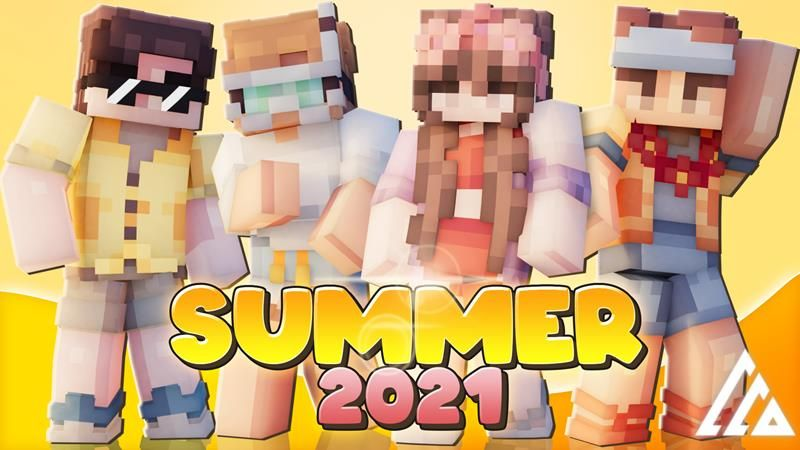 Summer 2021 on the Minecraft Marketplace by Vertexcubed