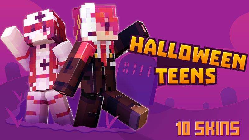 Halloween Teens Skin Pack on the Minecraft Marketplace by Ninja Squirrel Gaming