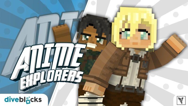 Anime Explorers on the Minecraft Marketplace by Diveblocks