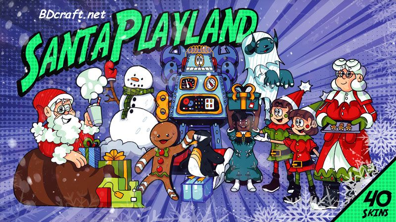 Santa Playland Skins on the Minecraft Marketplace by BDcraft