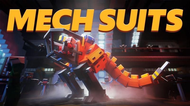 Mech Suits on the Minecraft Marketplace by Team Vaeron