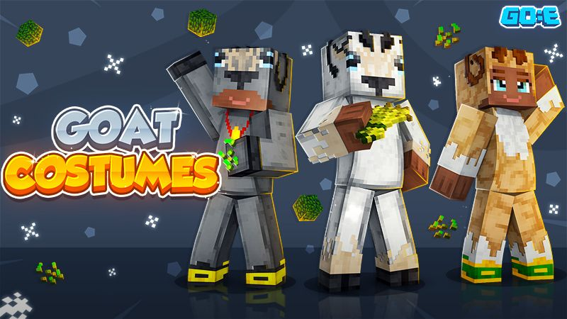 Goat Costumes on the Minecraft Marketplace by GoE-Craft