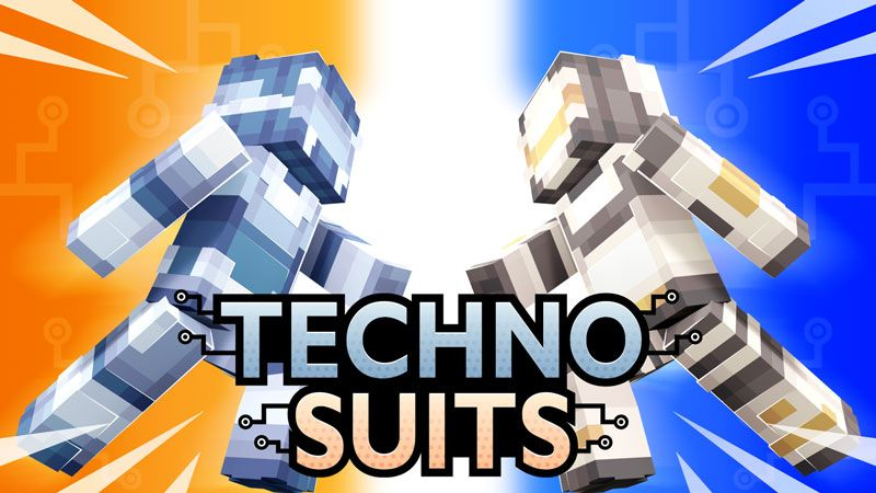 Techno Suits on the Minecraft Marketplace by Ninja Squirrel Gaming