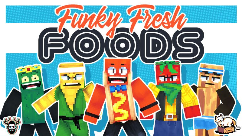 Funky Fresh Foods on the Minecraft Marketplace by Mike Gaboury