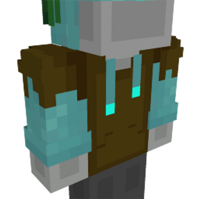 Drowned Hoodie on the Minecraft Marketplace by Geeky Pixels