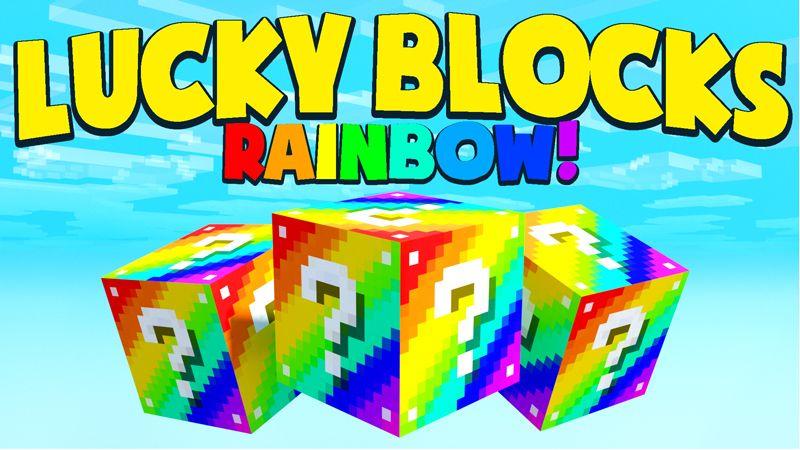 LUCKY BLOCKS RAINBOW on the Minecraft Marketplace by Chunklabs