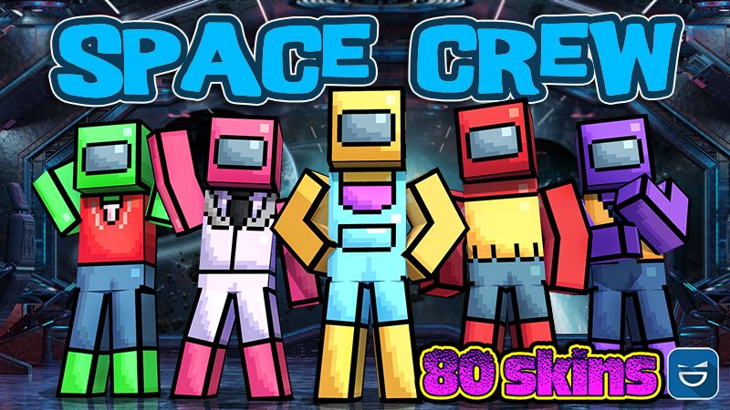 Space Crew on the Minecraft Marketplace by Giggle Block Studios