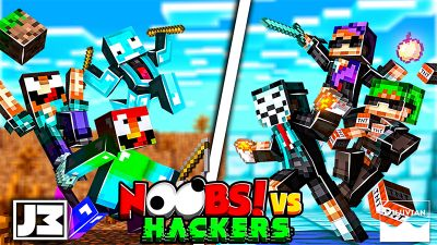 Noobs vs Hackers on the Minecraft Marketplace by Diluvian