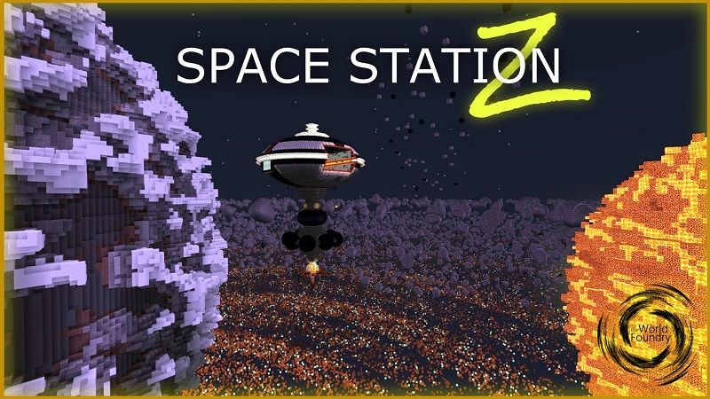 Space Station Z on the Minecraft Marketplace by The World Foundry