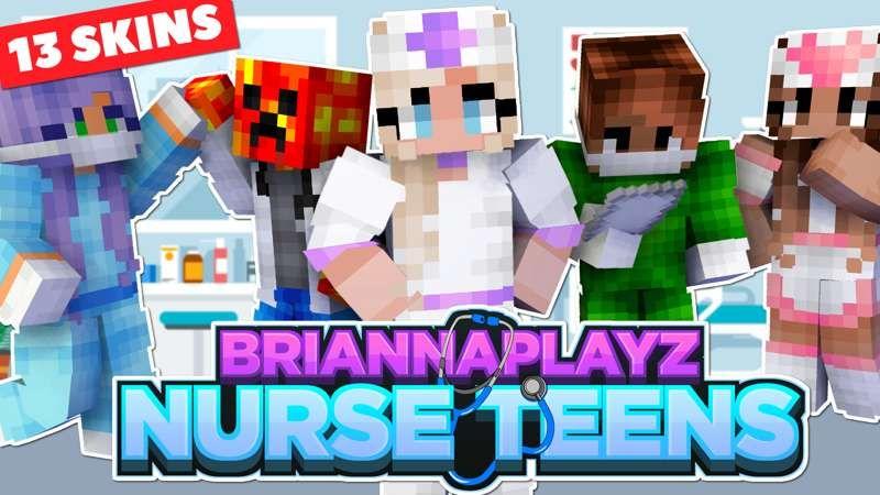 BriannaPlayz Nurse Teens on the Minecraft Marketplace by Meatball Inc